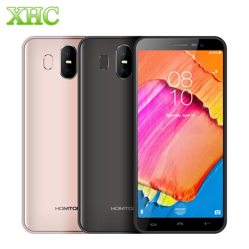 HOMTOM S17 5.5 ''telefon komórkowy z systemem Android 8.1 RAM 2 GB ROM 16 GB MT6580 Quad Core 13MP 8MP podwójny SIM linii papilarnych identyfikator twarzy smartfon 3G w Telefony Komórkowe od Telefony komórkowe i telekomunikacja na AliExpress - 11.11_Double 11Singles' Day 1