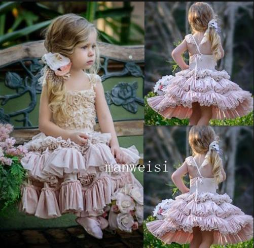 New Flower Girl Princess Dress Kid Party Pageant Wedding Bridesmaid Tutu Dresses стоимость