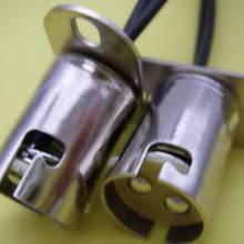 BAY15d штык офсетная печать лампочка светодиодный гнезда цоколя комплект из 2 предметов