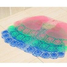 1pcs Foot Massage Children Mats Bath Non Slip Carpet Shower Anti Slip Mats  In Bath Kid PVC Bathroom Mat 4B