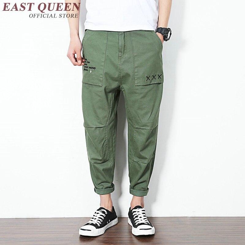 H Mens Carga 1 Baggy Harem 2 Kk1634 Pantalones De Casual Cargo Hombres waHzAxCq
