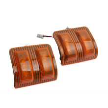 2Pcs 12V LED Super Duty Truck  Pickup Rear View Mirror Light Side Marker Turn Signal for Ford F-250/F-350/F-450/F-550