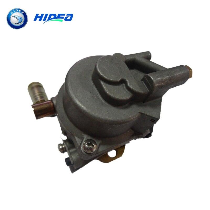 купить Wholesale Hidea Carburetor F9.9 4 Stroke 9.9HP For YMH 6AU-14301-41 Boat Motor  по цене 4579.33 рублей