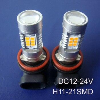 High quality 12/24VAC/DC 10W H11 Car Led Fog Lamp,Auto H8 H11 led fog light,H8 Led Light Lamp Bulb free shipping 20pcs/lot
