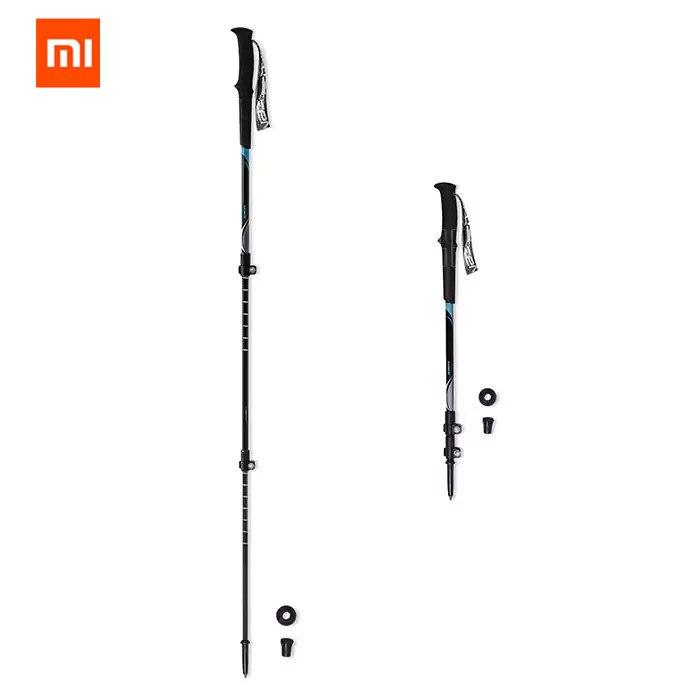 Original xiaomi mijia zaofeng Xiaomi Carbon Fiber Trekking Poles Ultra Light And Durable