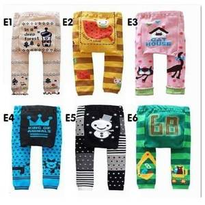 Hooyi Pants Legging Girls Baby-Boy Warmers Cotton Cartoon Pp 80-90 95 Tights Animal