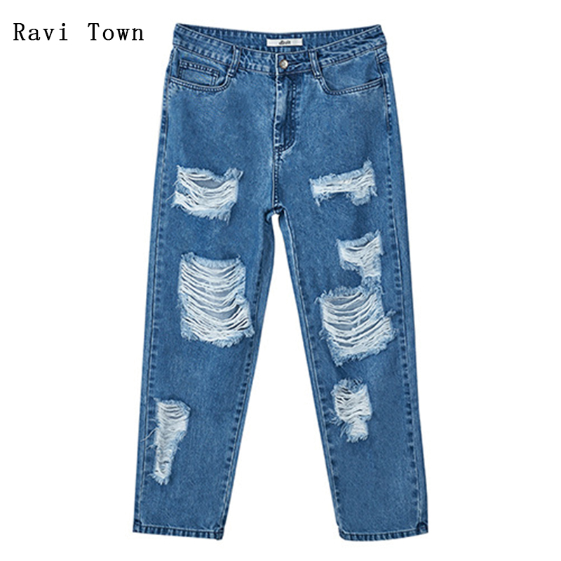 Ravi town Jeans 2017 Summer Handsome Water Wash Hole Design Leisure Gift Grid Black Tube Socks Jeans .---free black socks venkatachalam deepa parvathi and maddaly ravi anti mitotic polyclonal antibodies for mitotic inhibition
