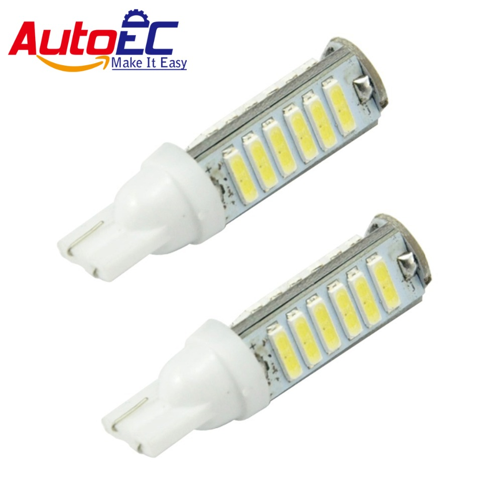AutoEC 300pcs Automobile Light led T10 20 SMD LED 7014 Car Clearance Light lamp