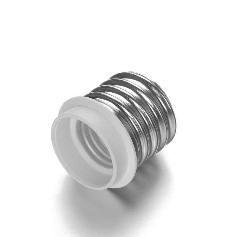 E40 إلى E27 محول E40 إلى E26 محول مصباح حامل محول قاعدة المقبس مصباح ليد لمبة تمديد التوصيل