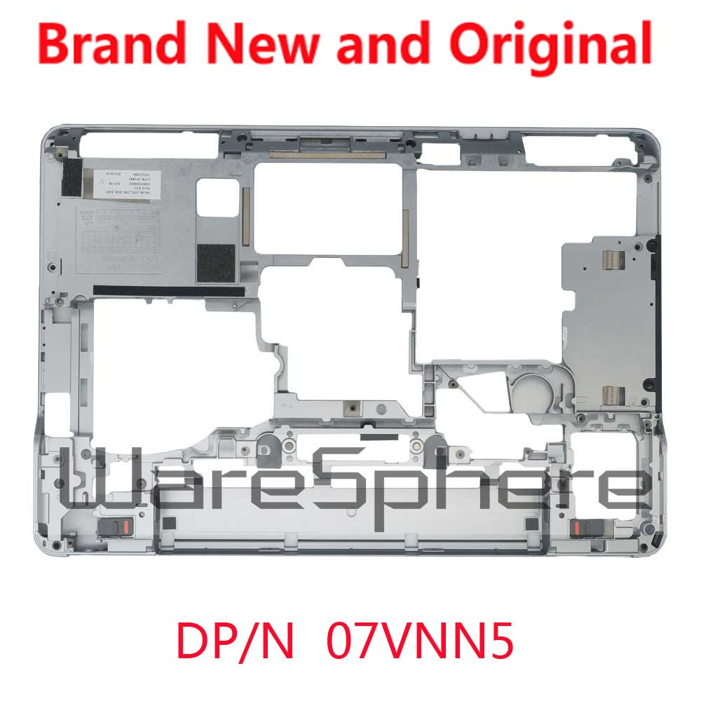 US $37 73 15% OFF|NEW Original for Dell Latitude E6440 Bottom Base Cover  Bottom Case 7VNN5 07VNN5 AM0VG000402 Silver-in Laptop Bags & Cases from