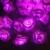 1 Pc 80 LED Bateria Operado 10 m Flor Rosa Decoração Do Quarto Casamento Luz Feericamente