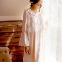 النوم ثوب النوم الطويل صالة نوم باس النوم المنزل فستان لسيدة