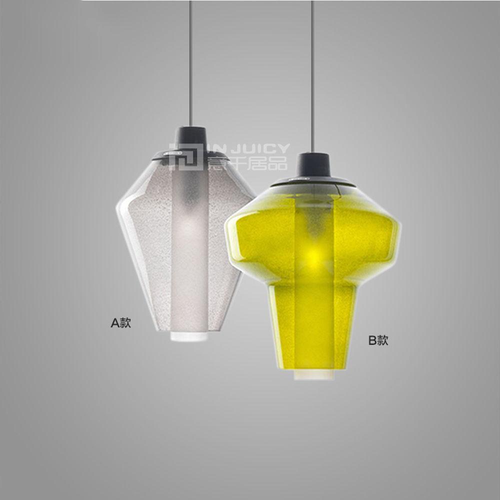 Us 750 Retro Glas Led Leuchter Blase Loft Korridor Restaurant Deckenleuchte Hängend Licht Café Schlafzimmer Droplight Decor In Pendelleuchten Aus