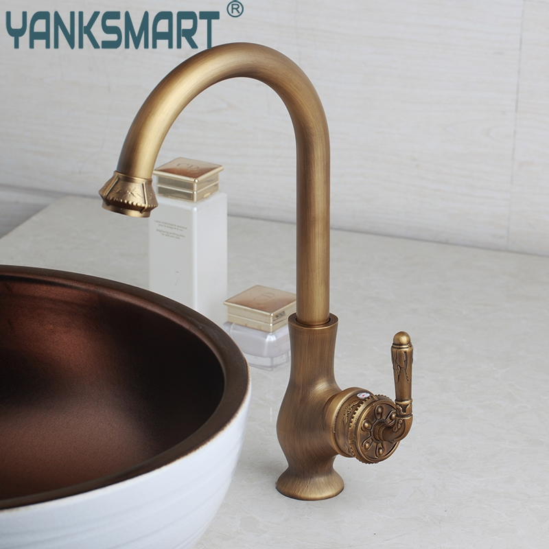 Bathroom Basin Faucet Black Painting Hot And Cold Mixer Tap Unique Handle Solid Brass Torneira Single Lever Faucets