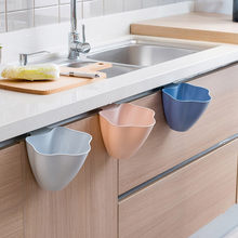 Hot Sale Trash Can Kitchen Storage Bucket Tub Cabinet Door Hanging Trash Garbage Bin Can Rubbish Container TOP Qaulity Can(China)