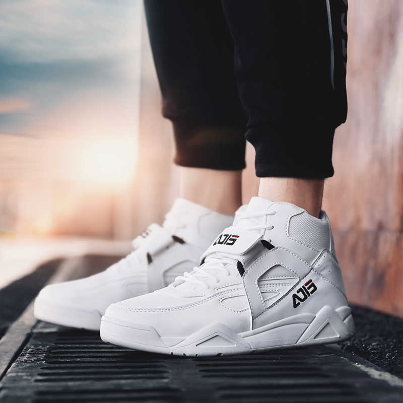 YRRFUOT hommes en cuir chaussures décontractées mode baskets fond épais respirant antidérapant marche chaussures adulte tendance à lacets chaussures