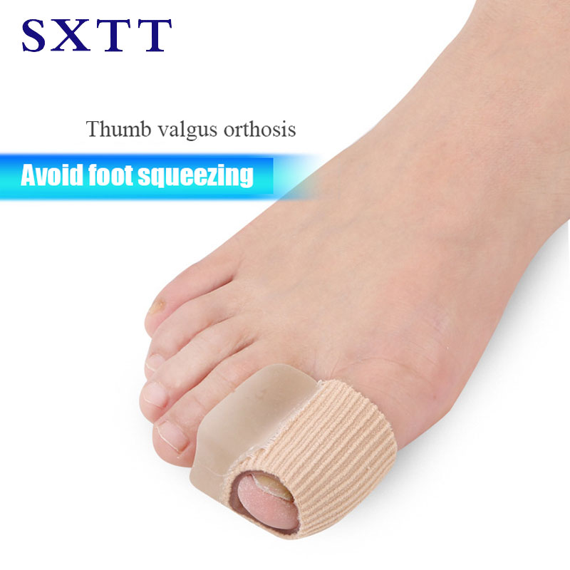 SXTT Silicone Gel Toe separator thumb valgus correction Orthopedic insoles Insoles for High heels Shoes Thumb Valgus fashion boutique silicone gel insoles