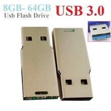 Высокоскоростной флеш-накопитель usb 3,0 чип USB флеш-накопитель 64 ГБ флеш-накопитель 8 ГБ 16 ГБ 32 ГБ флеш-накопитель(можно настроить логотип