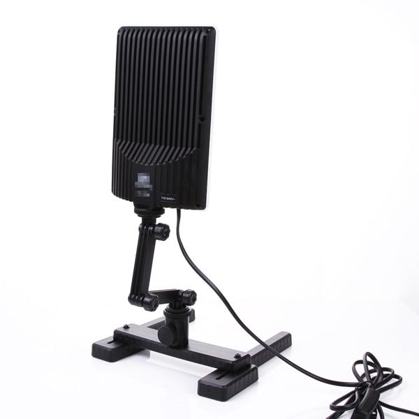NanGuang LED lampe de lumière de Photo CN T96 2 Kit 220 V éclairage photographique avec Mini Table de tir et Kit de papier de fond - 4