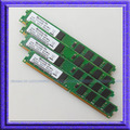 Полная совместимость! 8 ГБ 4 x 2 ГБ PC2-5300 667 мГц DDR2 667 240PIN низкой плотности 512ram DIMM настольных памяти не Ecc бесплатная доставка