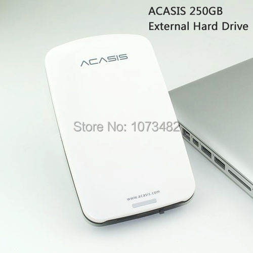 Free shipping on sale acasis original 250gb 2 5 usb2 0 hdd mobile hard disk external