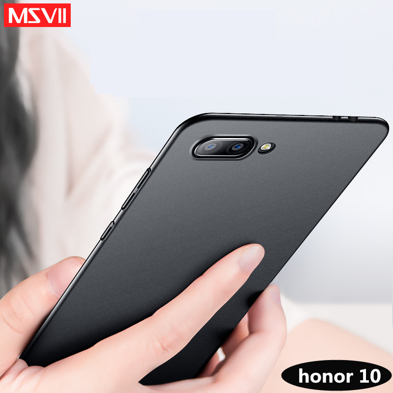 MSVII Luxury coque For huawei Honor 10 case Hard PC Protection Back Cover for huawei Honor View 10 V10 Honor10 phone case cover ...