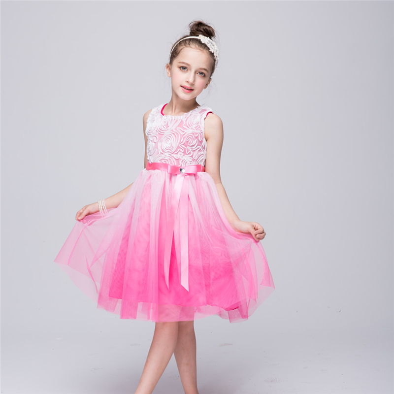 Girl   Knitted Princess Bubble   Dresses     Flower     Girl     Dresses