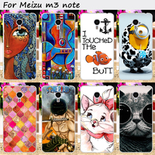 Diy pintado caixa do telefone de plástico rígido para meizu m3 note meilan nota 3 Tampa Do Telefone Celular Anti-Batida Venda Quente Do Telefone Móvel Sacos