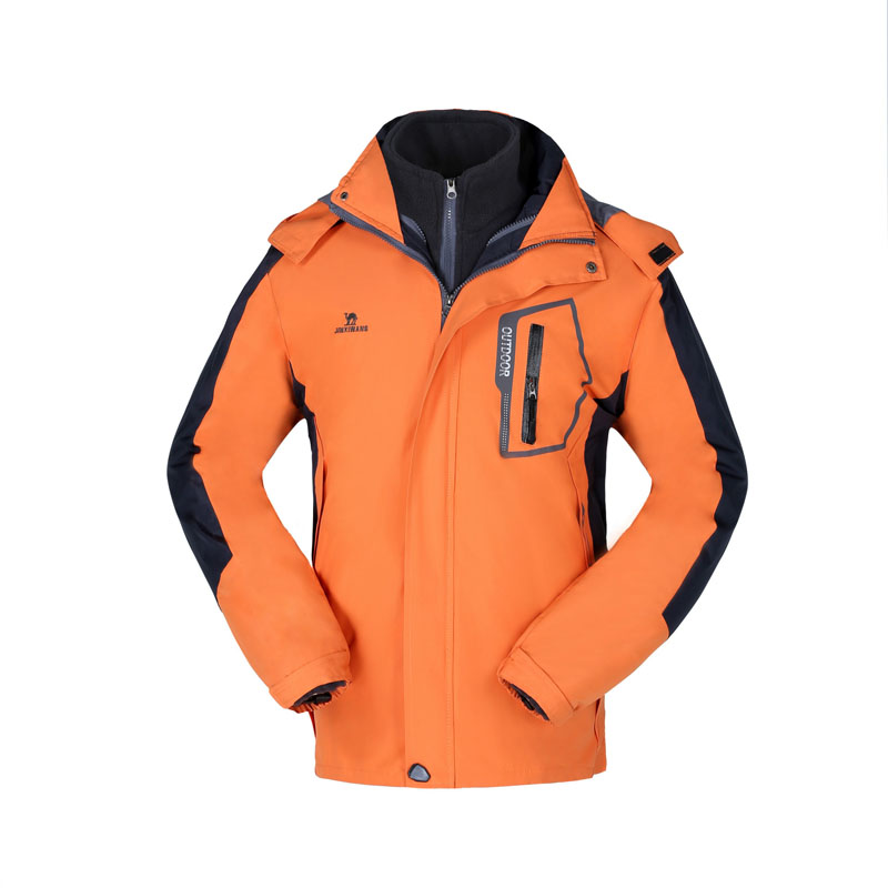 ФОТО new waterproof windproof snowboard jacket men include Liner winter down jackets suit warmful winter jackets mens CF002