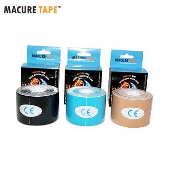 Cinta macurre Dynamic Nylow 4 Way cinta de kinesiología elástica 4 lados deporte médico dolor masaje cinta dinámica
