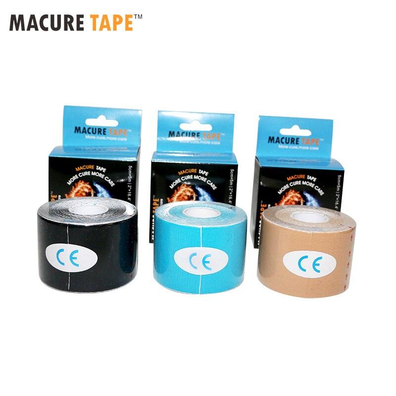 Macure Bande Dynamique Nylow 4 Extensible Kinésiologie Bande 4 Côtés Élastique Médical Sport Musculaire Douleur Massage Dynamique Bande