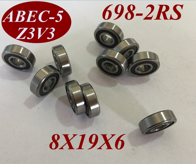 Ball Bearing 12.7X28.6X7.9 12.7 X 28.6 X 7.9 R8-2RS R8