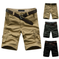 2015 Summer Men's Army Cargo Work Casual Bermuda Shorts Men Classic Fashion Overall Trousers Plus size Masculina Beach mma Short
