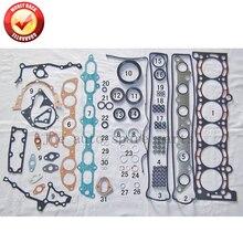 7MGE 7MGTE Engine Full gasket set kit for Toyota Supra/Cressida/Crown/Soarer 3.0L 2954cc 1986-1993 04111-42023 04111-42033