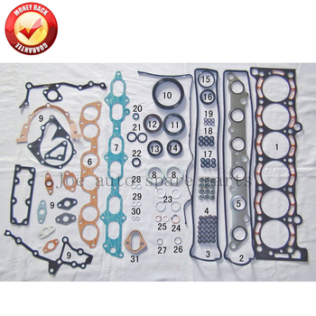 7MGE 7MGTE Engine Full gasket set kit for Toyota Supra/Cressida/Crown/Soarer 3.0L 2954cc 1986-1993 04111-42023 04111-42033