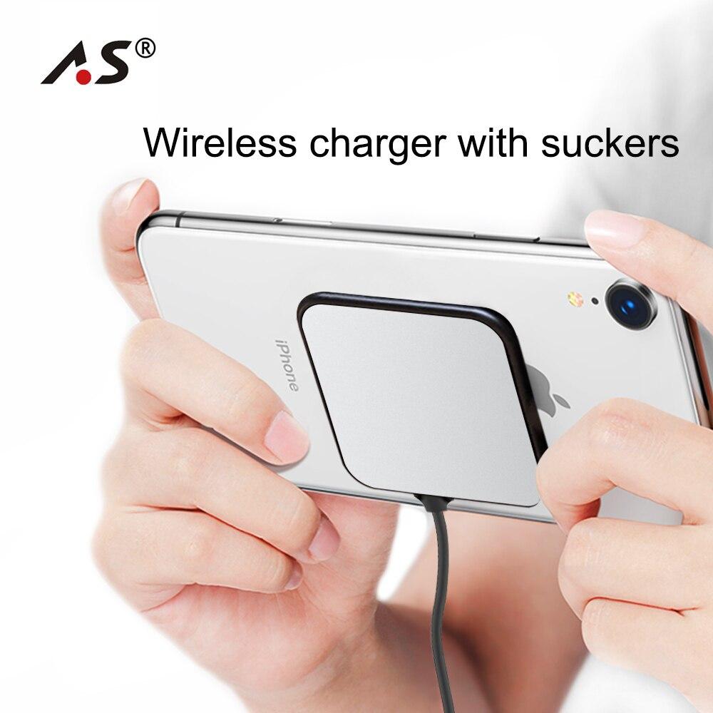 S8 Handy-zubehör As 10 Watt Spinne Saugnapf Drahtlose Ladegerät Für Iphone X Xr Xs 8 Tragbare Schnelle Drahtlose Aufladen Pad Für Samsung Hinweis 9 8 S9 Kabellose Ladegeräte