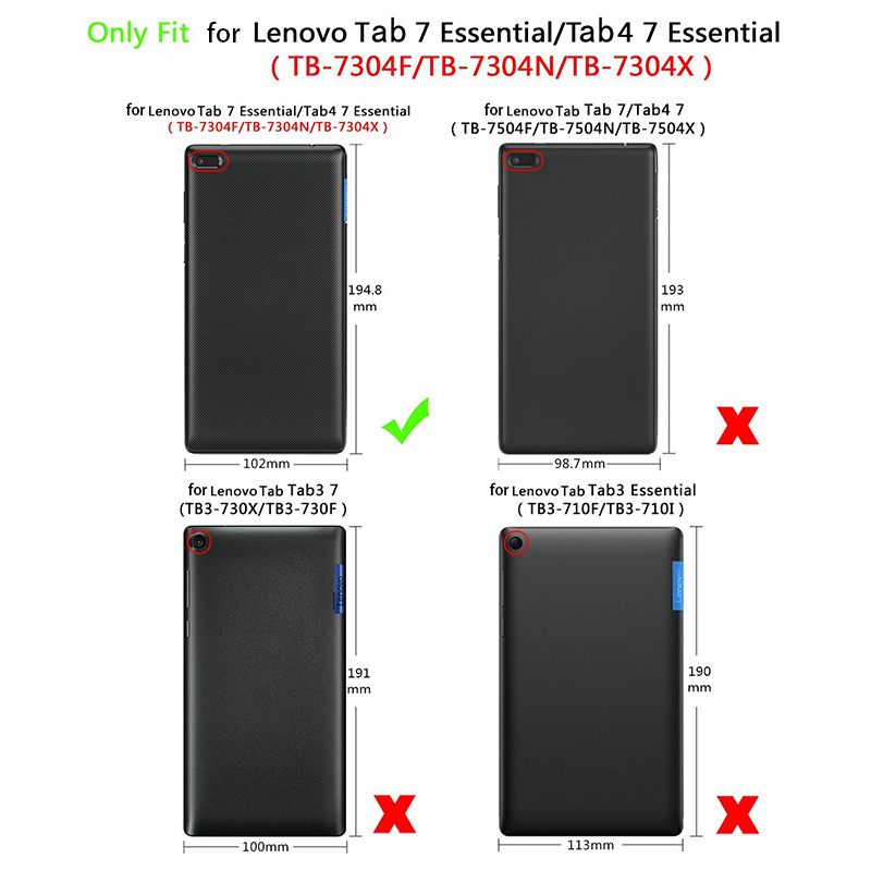 9H Tempered Glass For Lenovo Tab 7 Protective Film Case For TB 7304F TB 7304F 7304 7304I 7304X Tab4 7 0 Tablet Screen Protector in Tablet Screen Protectors from Computer Office