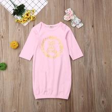 Pudcoco пеленка с цветами для новорожденных девочек, одеяло, спальный мешок с длинными рукавами+ повязка на голову