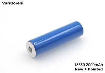 1 pcs. New 18650 Rechargeable Battery 3.7V 2000 mAh+sharp Li-ion Battery Charged Flashlight for Mobile Device / Power Source