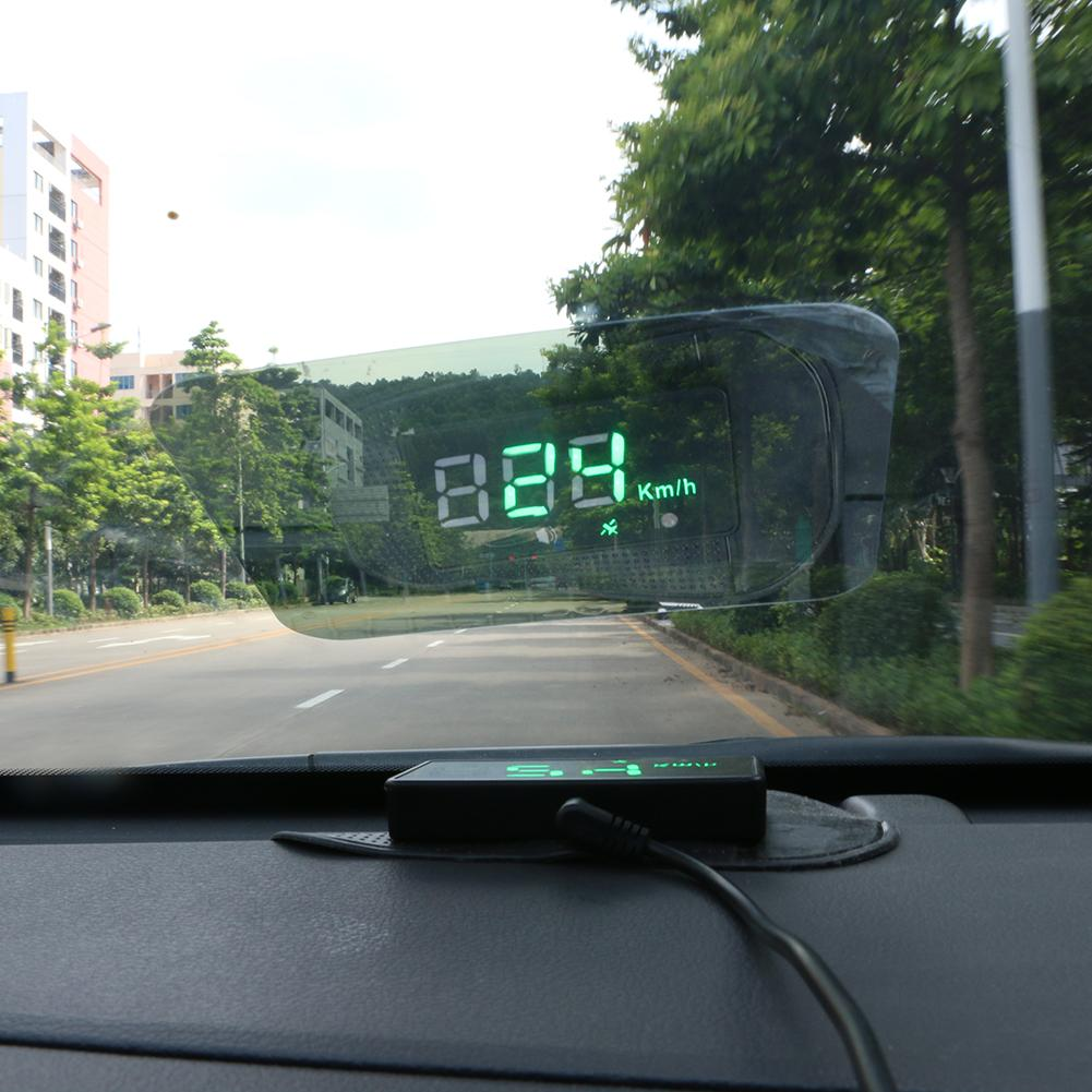 Car Speed Display Auto Hud Heads Up Display GPS Psitioning Auto Digital Led Projection Head-up Display Color Change