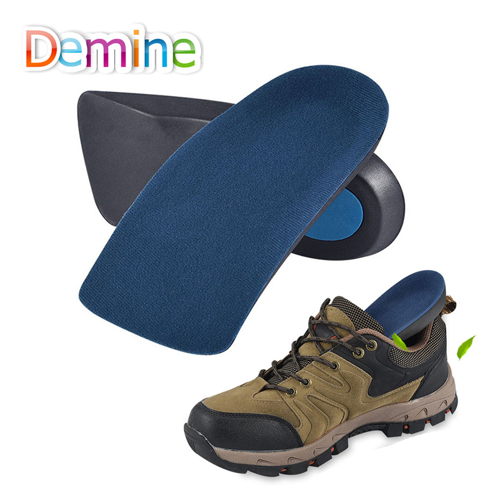 Demine EVA Orthopedic Insoles Arch Support Casual Half Cushion for Flat Foot Shock-Absorbant Walking Breathable Shoes Insert Pad