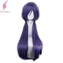 Yiaokess perruque de Cosplay synthétique Nozomi Tojo avec frange, longue et violette, 75cm, livraison gratuite