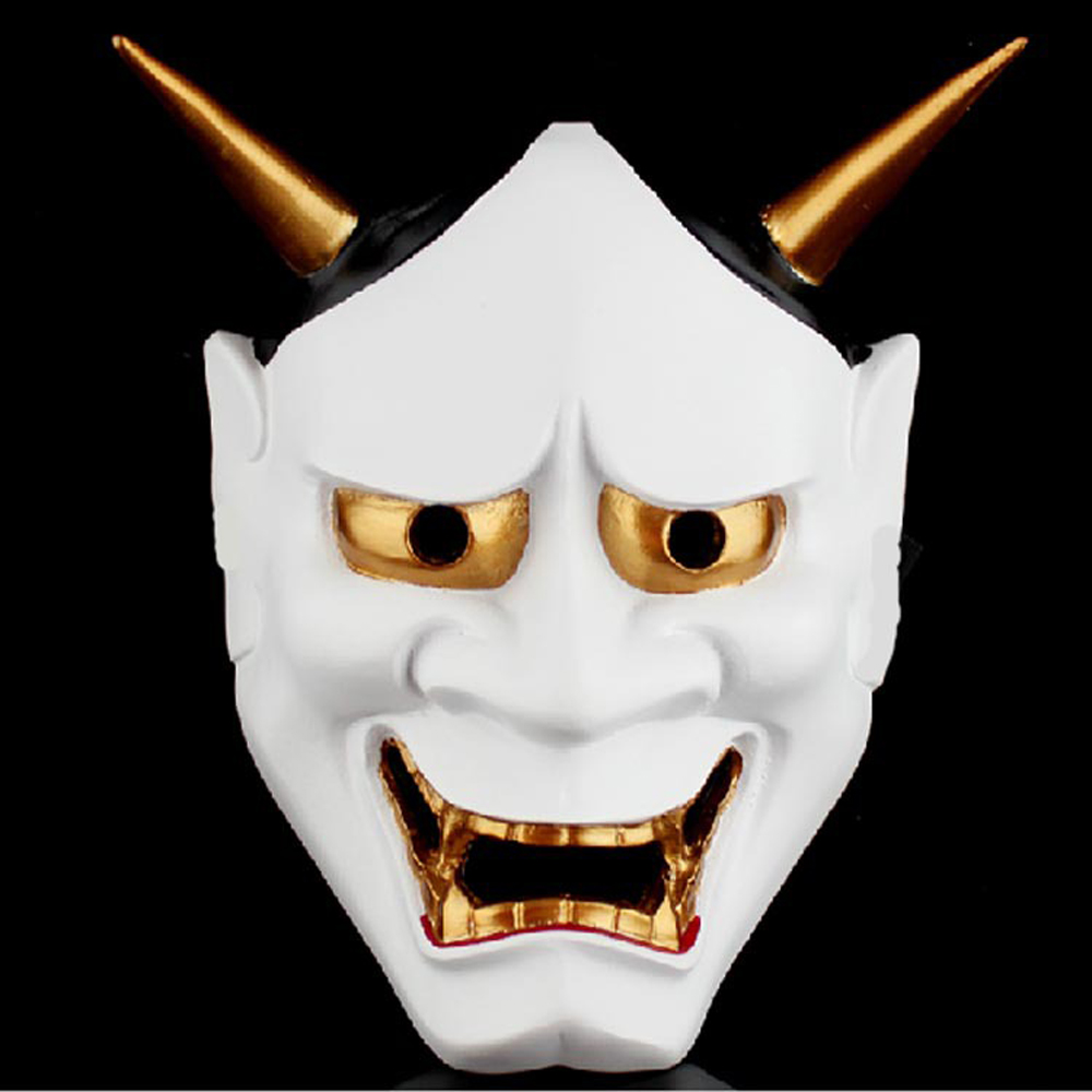 Horor Pvc Klaun Zvířecí masky Halloween Japonský Anime Maska Horor Moudrost Přilba Velikonoční Vánoční Nový rok Party Svatební Maske