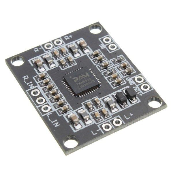 20PCS PAM8610 2x15W Amplifier Board Digital Two-channel Stereo Power Amplifier Board Miniature