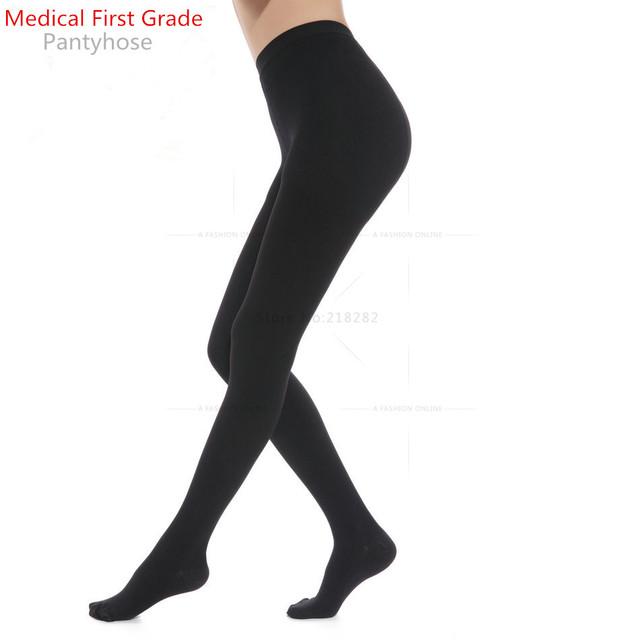 Medical grade queimar gordura anti varizes meias de compressão mulheres polainas meias stovepipe bezerros shaper magro