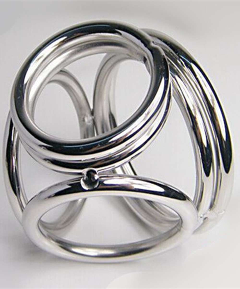 Erotic Sex Toys For Men,Stainless Steel Male Penis Rings Metal Cock Cage Chastity Device Slave In Adult Games,Adult Products