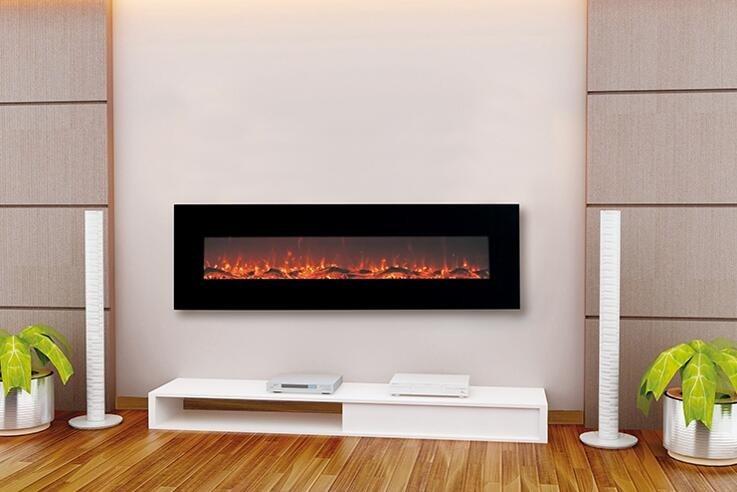 Wood Burning Sound Electric Fireplace