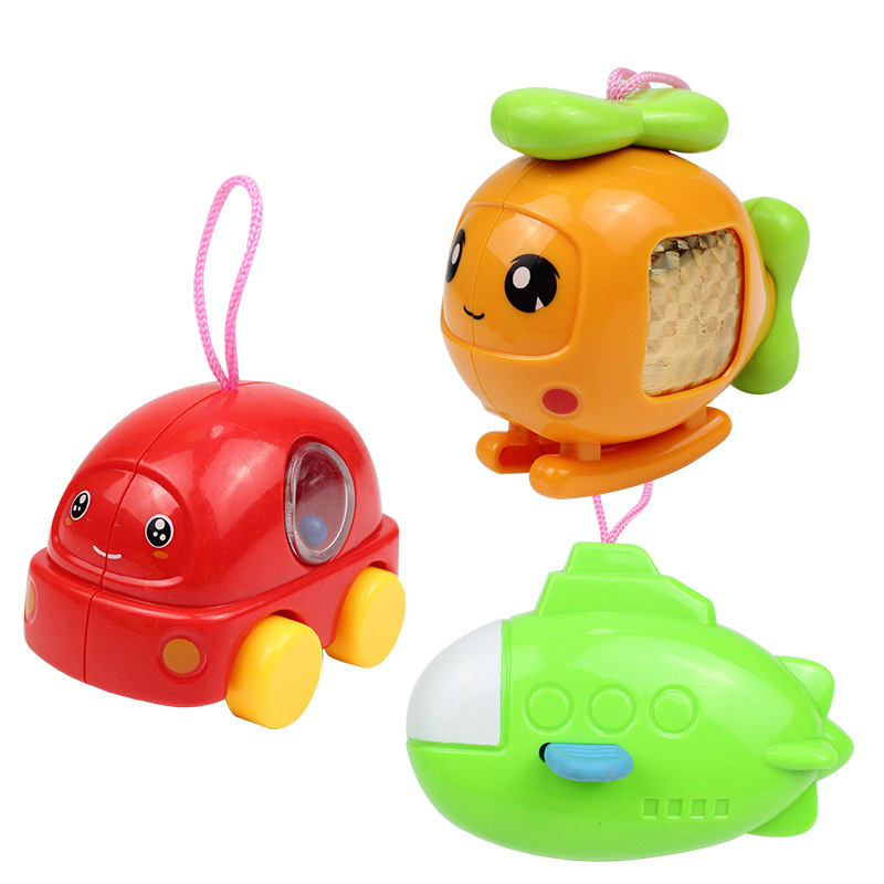3pcs /set Newborn hand Rattles bell baby 0-1 year old affordable Set baby toys Baby Plastic Toys Animal monkey tortoise