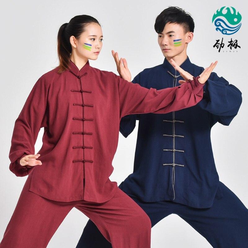 Thick  Tai Chi Uniform Men And Women  Martial Art Performance Clothes