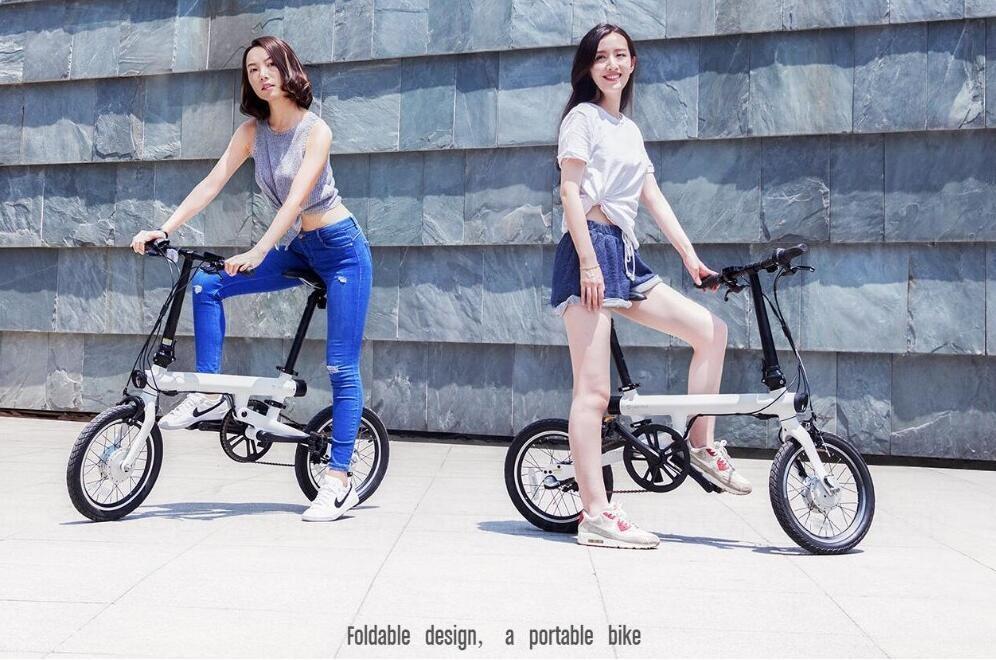 Mi QiCYCLE Electric Folding Bike (Black) EU